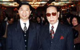 Lam Chun Fai  with his father  Lam Cho