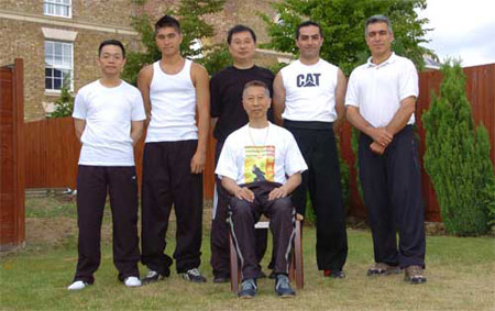 Lam Chun Fai sifu in London, England